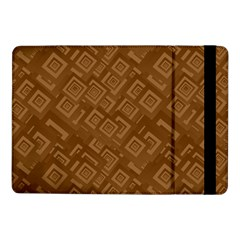 Brown Pattern Rectangle Wallpaper Samsung Galaxy Tab Pro 10.1  Flip Case