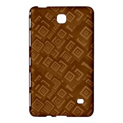 Brown Pattern Rectangle Wallpaper Samsung Galaxy Tab 4 (8 ) Hardshell Case