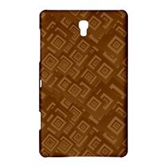 Brown Pattern Rectangle Wallpaper Samsung Galaxy Tab S (8.4 ) Hardshell Case