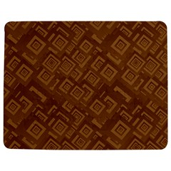 Brown Pattern Rectangle Wallpaper Jigsaw Puzzle Photo Stand (rectangular)