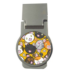 Cats pattern Money Clips (Round)