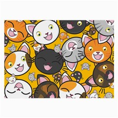 Cats pattern Large Glasses Cloth