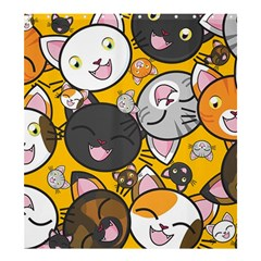 Cats pattern Shower Curtain 66  x 72  (Large)