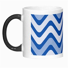 Waves Wavy Lines Pattern Design Morph Mugs