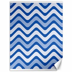 Waves Wavy Lines Pattern Design Canvas 36  X 48