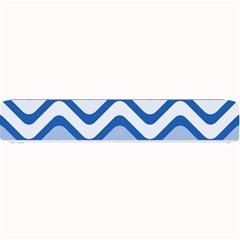 Waves Wavy Lines Pattern Design Small Bar Mats