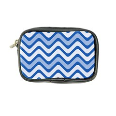 Waves Wavy Lines Pattern Design Coin Purse