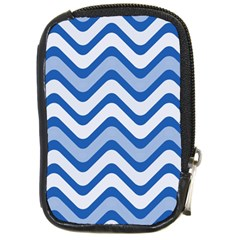 Waves Wavy Lines Pattern Design Compact Camera Cases