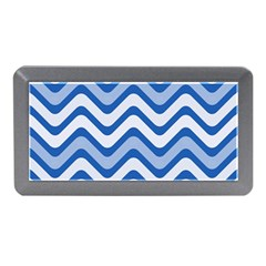 Waves Wavy Lines Pattern Design Memory Card Reader (mini)