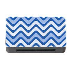 Waves Wavy Lines Pattern Design Memory Card Reader With Cf
