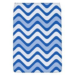 Waves Wavy Lines Pattern Design Flap Covers (l)