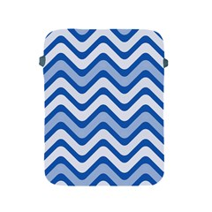 Waves Wavy Lines Pattern Design Apple Ipad 2/3/4 Protective Soft Cases