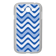Waves Wavy Lines Pattern Design Samsung Galaxy Grand Duos I9082 Case (white)