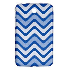 Waves Wavy Lines Pattern Design Samsung Galaxy Tab 3 (7 ) P3200 Hardshell Case