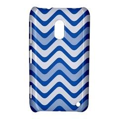 Waves Wavy Lines Pattern Design Nokia Lumia 620