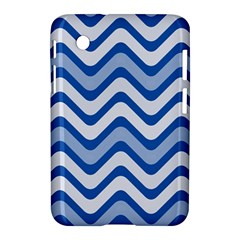 Waves Wavy Lines Pattern Design Samsung Galaxy Tab 2 (7 ) P3100 Hardshell Case