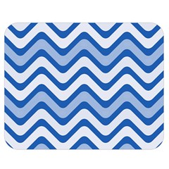 Waves Wavy Lines Pattern Design Double Sided Flano Blanket (medium)