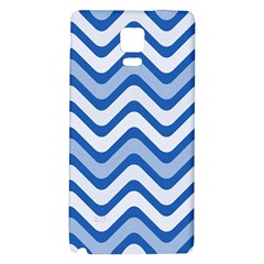 Waves Wavy Lines Pattern Design Galaxy Note 4 Back Case