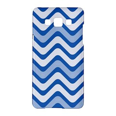Waves Wavy Lines Pattern Design Samsung Galaxy A5 Hardshell Case