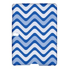 Waves Wavy Lines Pattern Design Samsung Galaxy Tab S (10 5 ) Hardshell Case