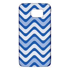 Waves Wavy Lines Pattern Design Galaxy S6