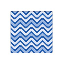 Waves Wavy Lines Pattern Design Satin Bandana Scarf