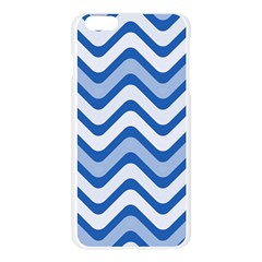 Waves Wavy Lines Pattern Design Apple Seamless iPhone 6 Plus/6S Plus Case (Transparent)