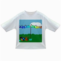 Welly Boot Rainbow Clothesline Infant/Toddler T-Shirts
