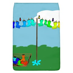 Welly Boot Rainbow Clothesline Flap Covers (l)