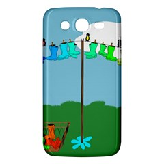 Welly Boot Rainbow Clothesline Samsung Galaxy Mega 5 8 I9152 Hardshell Case