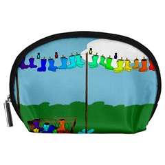 Welly Boot Rainbow Clothesline Accessory Pouches (large)
