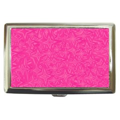 Geometric Pattern Wallpaper Pink Cigarette Money Cases
