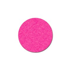 Geometric Pattern Wallpaper Pink Golf Ball Marker (4 Pack)