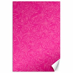 Geometric Pattern Wallpaper Pink Canvas 20  X 30