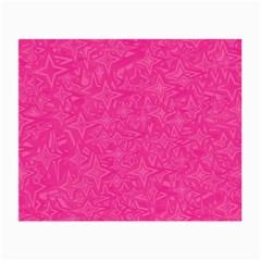 Geometric Pattern Wallpaper Pink Small Glasses Cloth (2 Side)