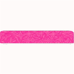 Geometric Pattern Wallpaper Pink Small Bar Mats