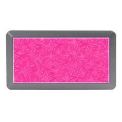 Geometric Pattern Wallpaper Pink Memory Card Reader (mini)