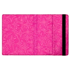 Geometric Pattern Wallpaper Pink Apple Ipad 3/4 Flip Case