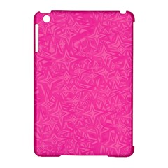 Geometric Pattern Wallpaper Pink Apple Ipad Mini Hardshell Case (compatible With Smart Cover)