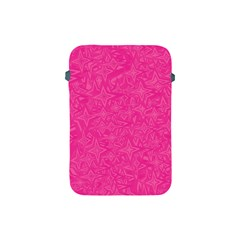 Geometric Pattern Wallpaper Pink Apple iPad Mini Protective Soft Cases