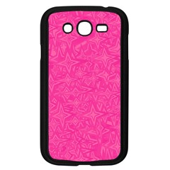 Geometric Pattern Wallpaper Pink Samsung Galaxy Grand Duos I9082 Case (black)