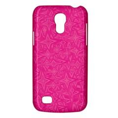 Geometric Pattern Wallpaper Pink Galaxy S4 Mini