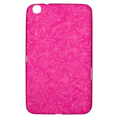 Geometric Pattern Wallpaper Pink Samsung Galaxy Tab 3 (8 ) T3100 Hardshell Case