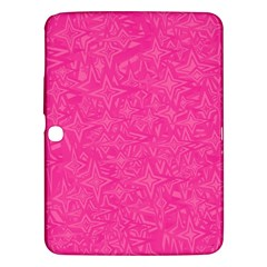 Geometric Pattern Wallpaper Pink Samsung Galaxy Tab 3 (10.1 ) P5200 Hardshell Case