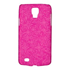 Geometric Pattern Wallpaper Pink Galaxy S4 Active