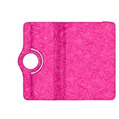 Geometric Pattern Wallpaper Pink Kindle Fire Hdx 8 9  Flip 360 Case