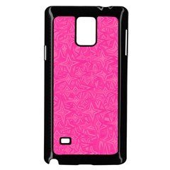 Geometric Pattern Wallpaper Pink Samsung Galaxy Note 4 Case (black)