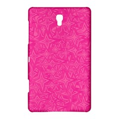 Geometric Pattern Wallpaper Pink Samsung Galaxy Tab S (8.4 ) Hardshell Case