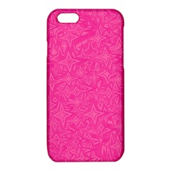 Geometric Pattern Wallpaper Pink iPhone 6/6S TPU Case