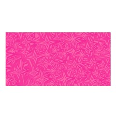 Geometric Pattern Wallpaper Pink Satin Shawl